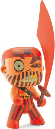 Djeco Arty Toys pop Captain red