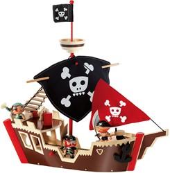 Djeco Arty Toys - Ze pirat boat