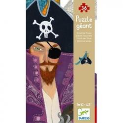 Djeco - Puzzels - Vloerpuzzels - Elliott le pirate