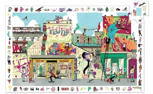 Djeco observatie puzzel Street art 200 stukjes