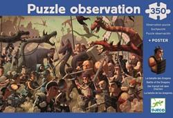 Djeco - Puzzels - Draak
