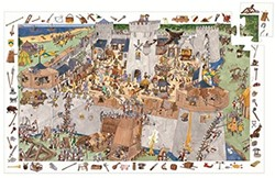 Djeco Fortified castle - 100 pcs