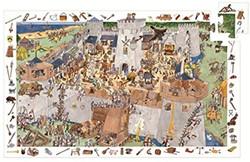 Djeco  legpuzzel Het kasteel - 100 stukjes