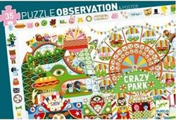 Djeco puzzel observation crazy park