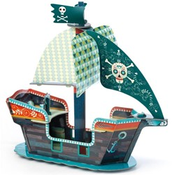 Djeco Arty Toys - Piratenboot