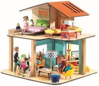 Djeco poppenhuis Modern house-1