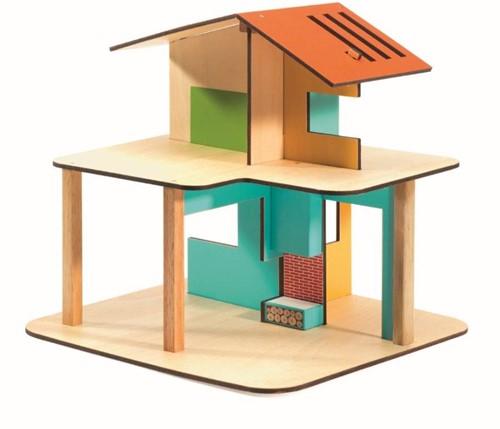 Djeco poppenhuis Modern house-2