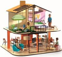 Djeco Maisons de poupées Color House*-1