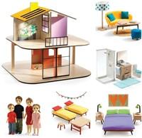 Djeco Maisons de poupées Color House*-2