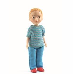 Djeco poppenhuis jongen Victor