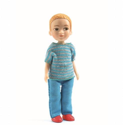 Djeco poppenhuispop Victor