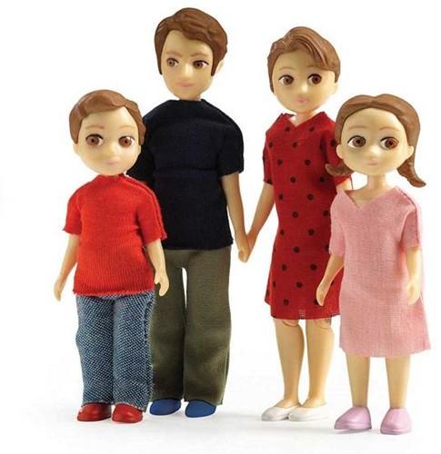 Djeco Poppenhuispoppen Familie Thomas & Marion