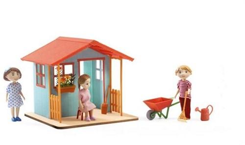 Djeco poppenhuismeubel Tuinhuisje