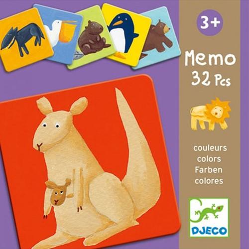 Djeco Memo colour animals