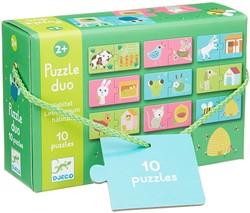 Djeco puzzel duo leefruimte