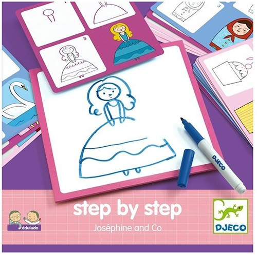 Djeco creatief Step by step - Joséphine and Co-1