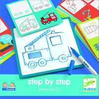 Djeco creatief Step by step - Arthur and Co-2