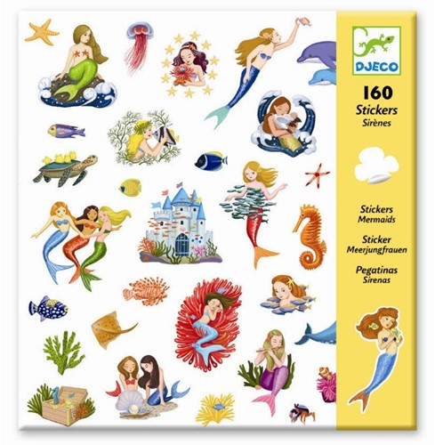 Djeco stickers Zeemeermin-2