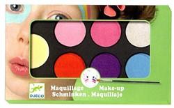 Djeco schmink Palette 6 colours - Sweet