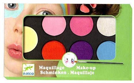 Djeco schmink Palette 6 colours - Sweet