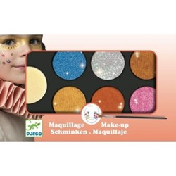 Djeco Palette 6 colours - Metallic