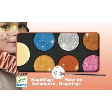 Djeco Palette 6 colours - Metallic