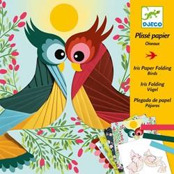 Djeco schilderijtjes vogels vouwen