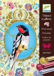 Djeco creatief Glitter birds