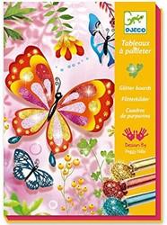 Djeco glitterschilderijen vlinders