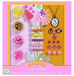 Djeco juwelen maken bloemen