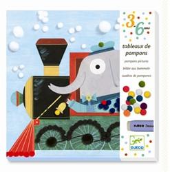 Djeco creatief PompomAll aboard