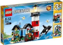 Lego  Creator gebouw Vuurtorenkaap 31051