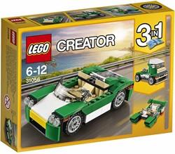Lego  Creator voertuig Groene sportwagen 31056