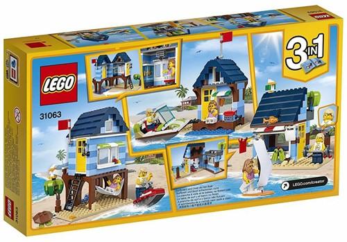 Lego  Creator gebouw Strandvakantie 31063-2