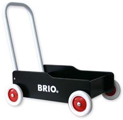 Brio  houten loopwagen Zwart 31351