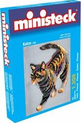 Ministeck knutselspullen Kat