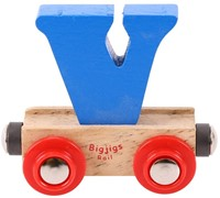 BigJigs Rail Name Letter V, BIGJIGS, LETTERTREIN V