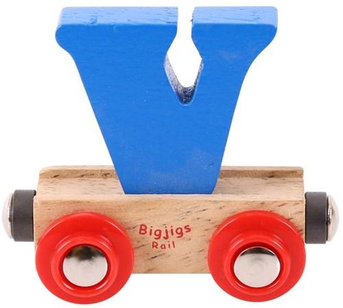 BigJigs Rail Name Letter V-1