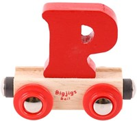 BigJigs Rail Name Letter P, BIGJIGS, LETTERTREIN P