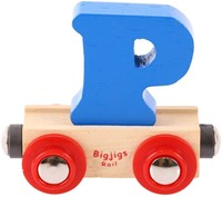 BigJigs Rail Name Letter P, BIGJIGS, LETTERTREIN P-2