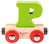 BigJigs Rail Name Letter P, BIGJIGS, LETTERTREIN P-3