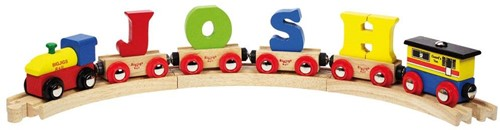 BigJigs Rail Name Letter S, BIGJIGS, LETTERTREIN S-2