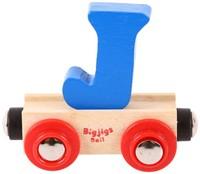 BigJigs Rail Name Letter J, BIGJIGS, LETTERTREIN J