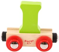 BigJigs Rail Name Letter I, BIGJIGS, LETTERTREIN I-1