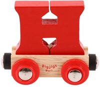 BigJigs Rail Name Letter H, BIGJIGS, LETTERTREIN H-2