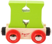BigJigs Rail Name Letter H, BIGJIGS, LETTERTREIN H-3