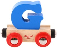 BigJigs Rail Name Letter G, BIGJIGS, LETTERTREIN G-1