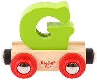 BigJigs Rail Name Letter G, BIGJIGS, LETTERTREIN G-3
