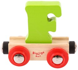 BigJigs Rail Name Letter F , BIGJIGS, LETTERTREIN F