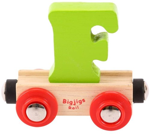 BigJigs Rail Name Letter F , BIGJIGS, LETTERTREIN F-1